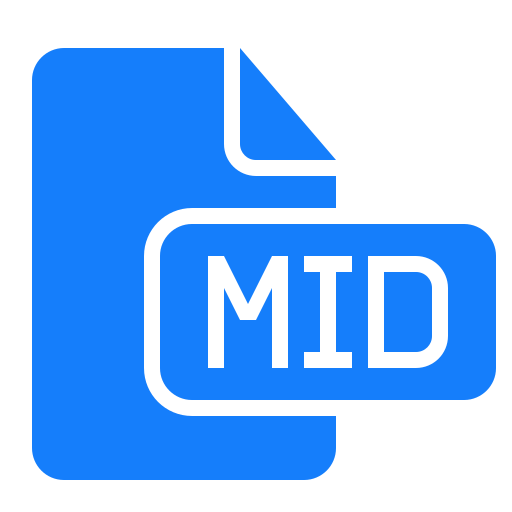 document, file, mid icon