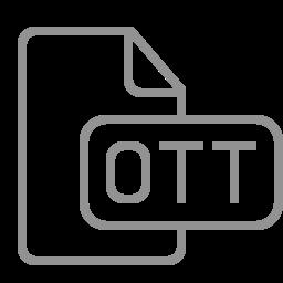 document, file, ott icon