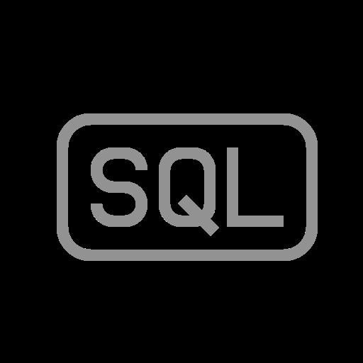 file, sql icon