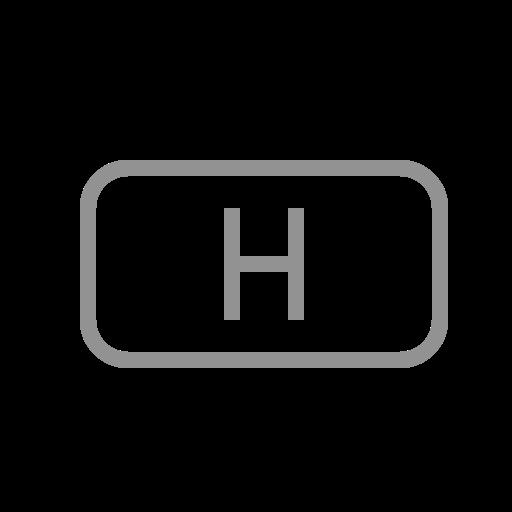 file, h icon