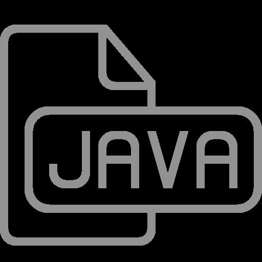document, file, java icon