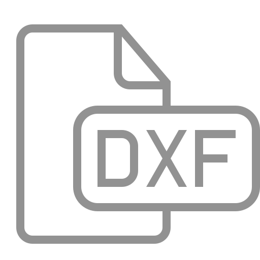 document, dxf, file icon