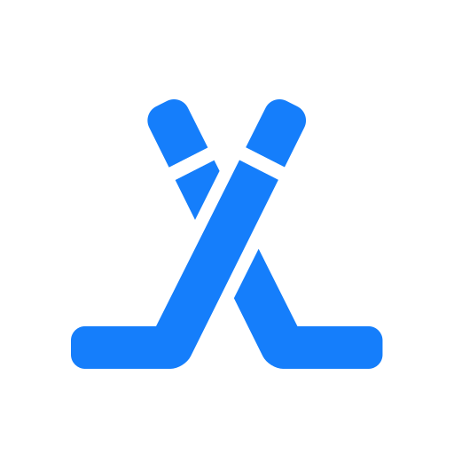 hockey, sticks icon