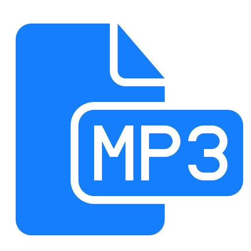 document, file, mp3 icon