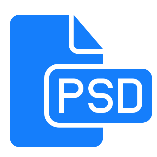 document, file, psd icon
