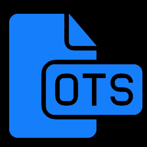 document, file, ots icon