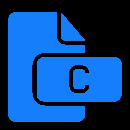 c, document, file icon