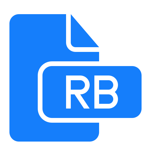 document, file, rb icon
