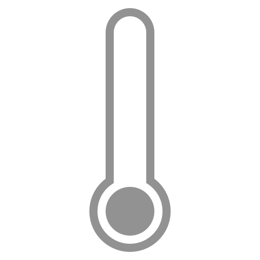 low, thermometer icon