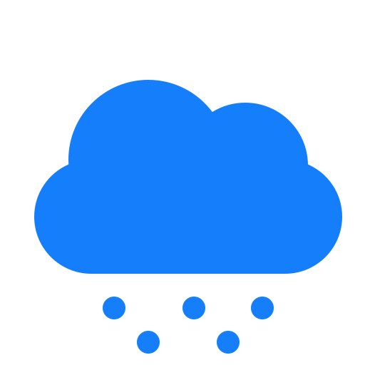 cloud, snow icon