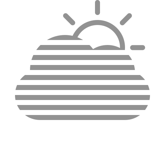 cloud, fog, sun icon