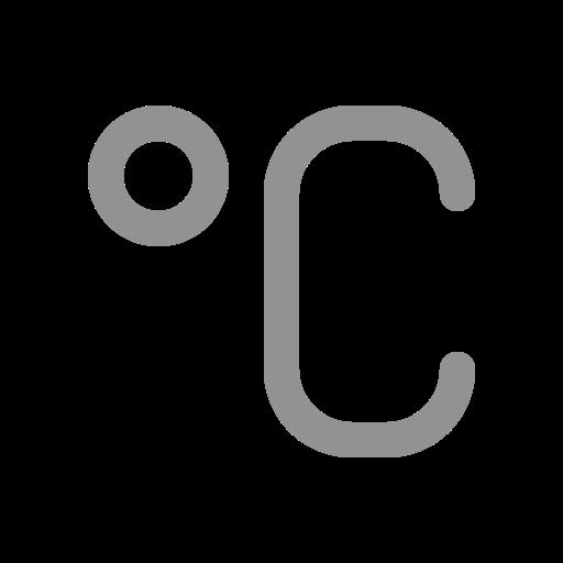 celsius, degree icon