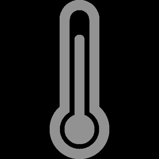 quarters, thermometer, three icon