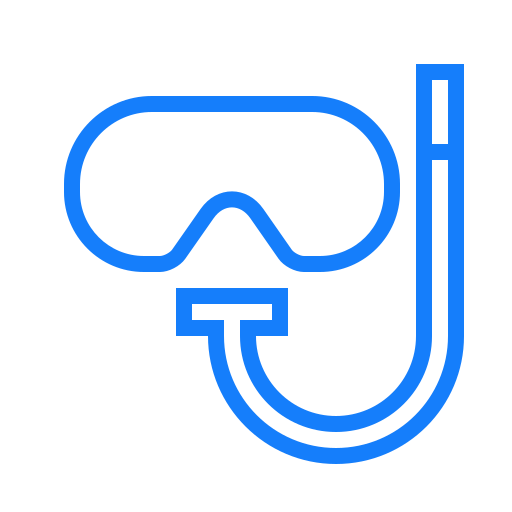 diving, goggles icon