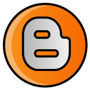 blog, blogger, blogspot, hayal, social, social media icon