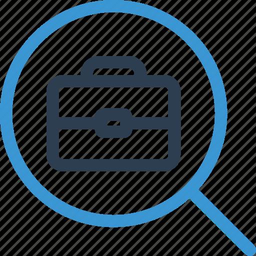 case, find, hr, job, offer, search, work icon
