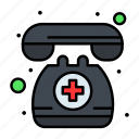 assistance, call, doctor, emergency, medical, on, telephone