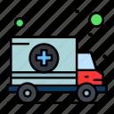 ambulance, car, hospital, transport