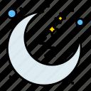 moon, night, rest, sleep, time