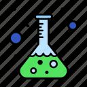 flask, lab, science, test