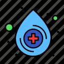 blood, drop, medical