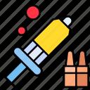 health, injection, medicine, syringe, vaccine