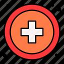 cross, pharmacy, doctor, health, care, first, aid
