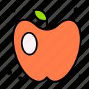 apple, fruit, vegan, health, vitamin