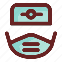 doctor, health care, health clinic, hospital, medical, people, sick man icon