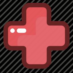 health clinic, healthcare and medical, hospital, pharmacy icon