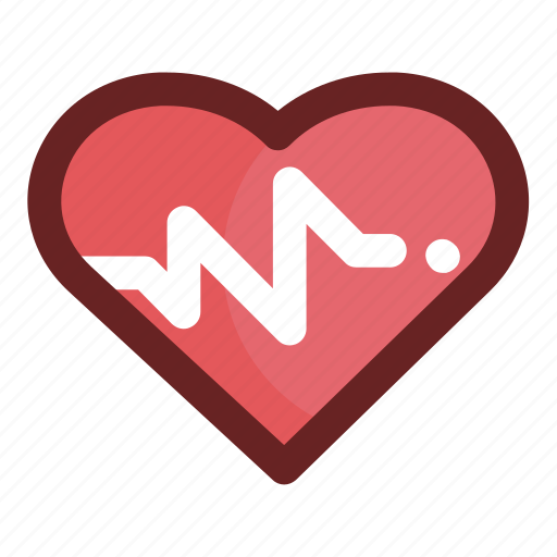 beating, frequency, graph, heart, medical, pulse, pulse rate icon