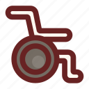 access, disability, disabled, handicap, hospital, medical, wheelchair icon