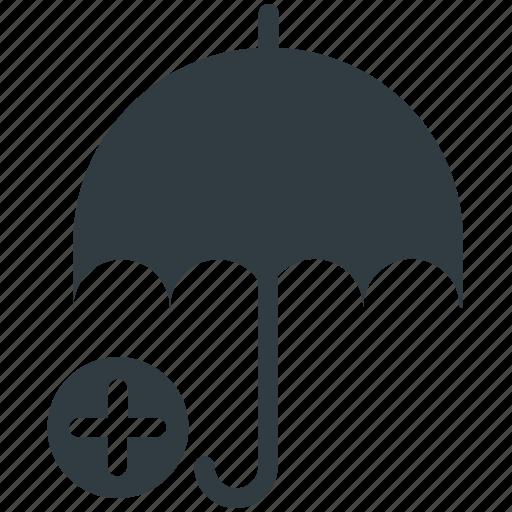 health care, health insurance, medical care, medical insurance, umbrella icon