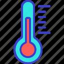 temperature, control, scale, thermometer