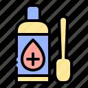 syrup, bottle, medicine
