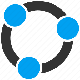 connection, diagram, graph, group, relations, structure, team work icon