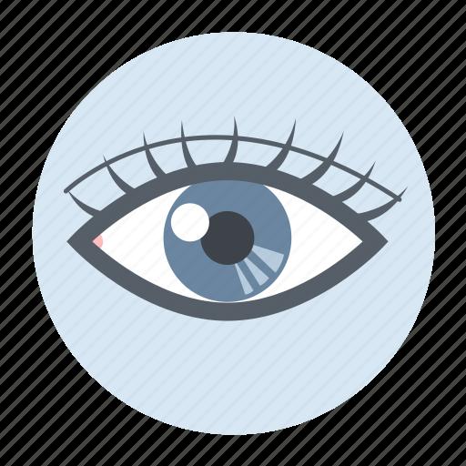 eye, health, healthcare, medical icon