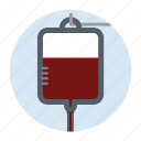 doctor, healthcare, hospital, transfusion icon