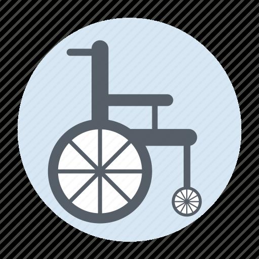 care, healthcare, hospital, wheelchair icon