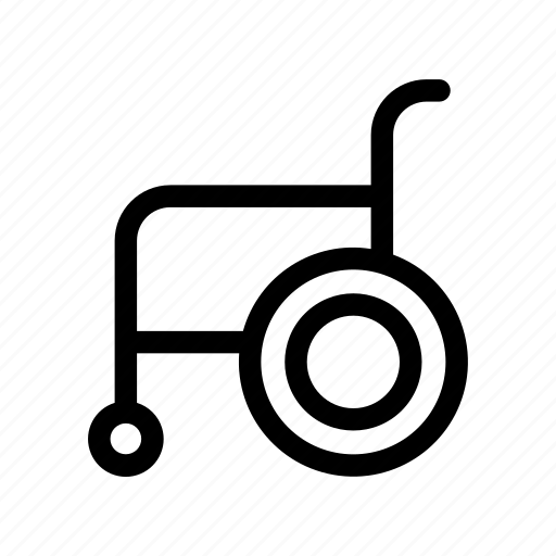 Disabled, wheelchair icon - Download on Iconfinder