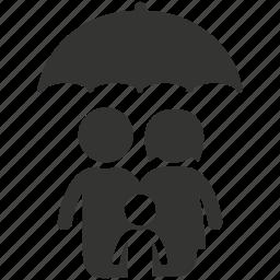 family insurance, family life insurance, life insurance, parents, protection, umbrella icon