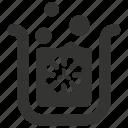bacteria, bacteria beaker, beaker, chemical, chemistry, danger icon