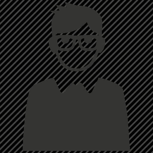 boy, guy, male, man, student, user icon