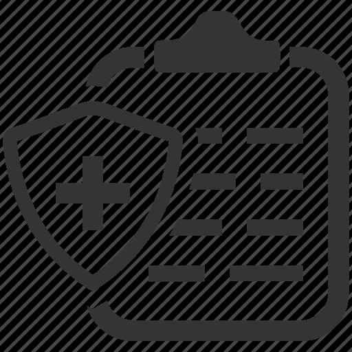 health insurance, health insurance policy, insurance, medical, medical insurance, policy icon