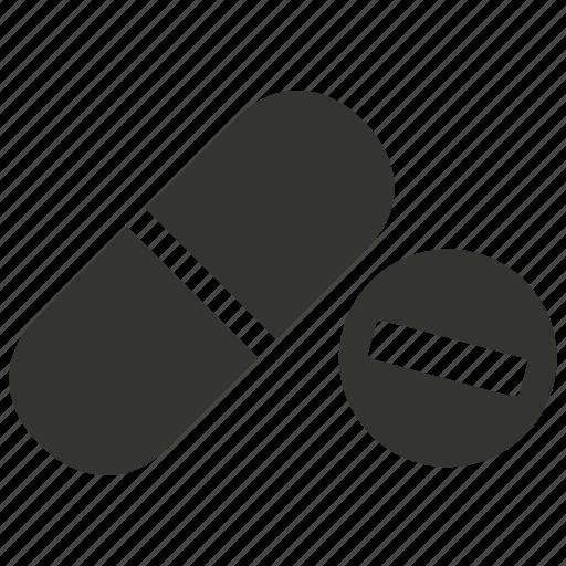 capsule, drugs, medicine, pharmacy, pill, pills, tablet, vitamin icon