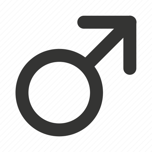 gender, male, male gender, male sign, man, not female, symbol icon