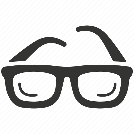 eye, glasses, magnifying, optometry, see, view, vision icon
