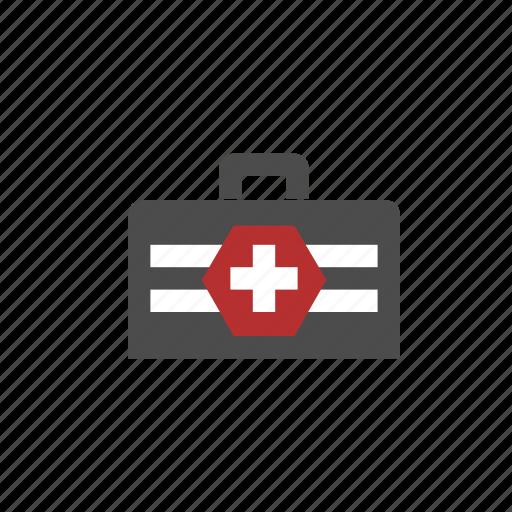 emergency, health, health care, healthcare, medicine, medicine bag icon