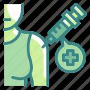 vaccine, injection, syringe, healthcar, medical