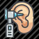 otoscopy, otoscope, ear, hearing, check